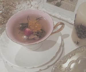 aesthetic, tea, and pink image