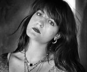 alternative, black and white, and florence welch image
