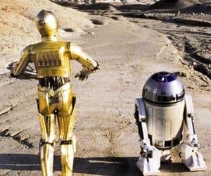 c3po, droids, and r2d2 image