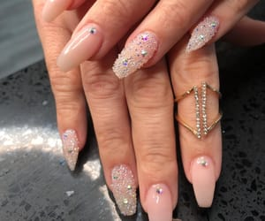 gems, jewels, and nails image