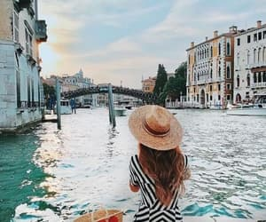 city, venice, and building image