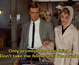 50's, audrey hepburn, and Breakfast at Tiffanys image