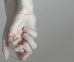 aesthetic, touch, and thread image
