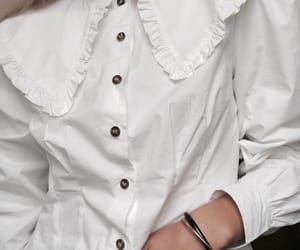 blouse, button up, and chic image