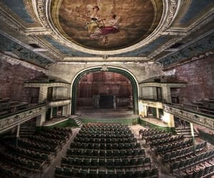 abandoned, theatre, and theater image