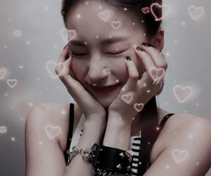 hearts, icons, and kpop image
