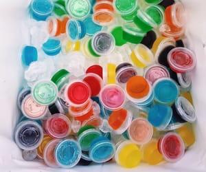 alcohol, colorful, and jello shots image