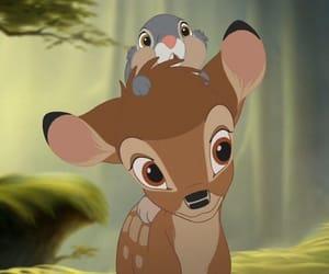 bambi, disney, and deer image