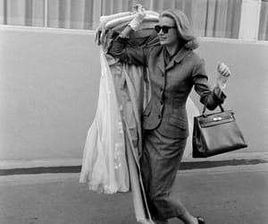 fashion, grace kelly, and hermes kelly bag image