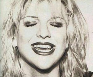 aesthetics, Courtney Love, and iconic image
