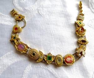 etsy, victorian jewelry, and vintage bracelet image