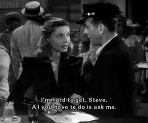 Humphrey Bogart, Lauren Bacall, and to have and have not image