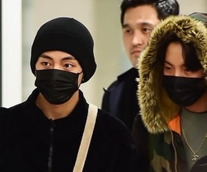 airport, bts, and j-hope image