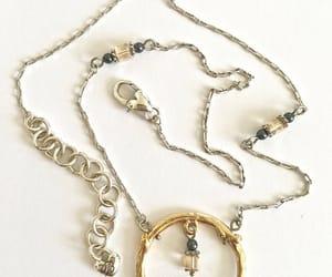 etsy, vintage jewelry, and vintage pendant image
