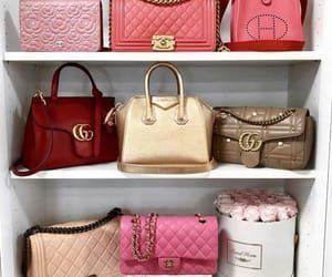 bags, chanel, and hermes image