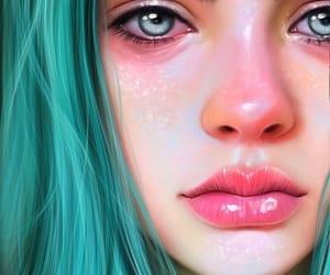 broken, girls, and heart broken image
