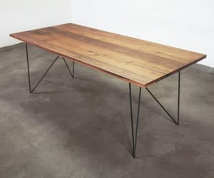 danish modern, diningtable, and midcenturymodern image