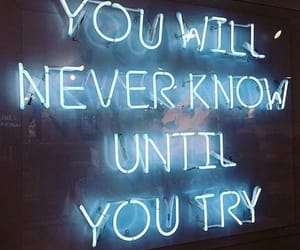 quotes, frases, and neon image
