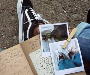 blue, vans, and alternative image