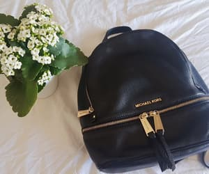 flowers, black, and minimalist image