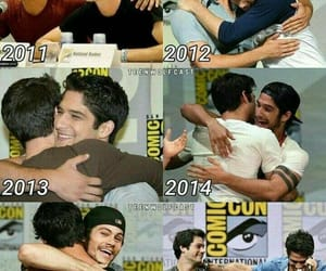 tyler posey, dylan o'brien, and sciles image