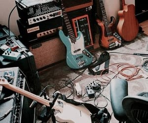 aesthetic, guitars, and electric guitars image