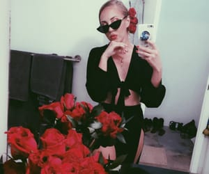 bday, black, and roses image