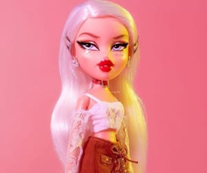 doll, bratz, and pink image
