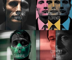 aesthetic, cannibal, and hannibal lecter image