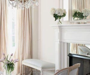 chandelier, new york, and chic image