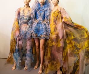fashion, gowns, and haute couture image