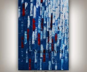 etsy, abstractart, and blue texture image