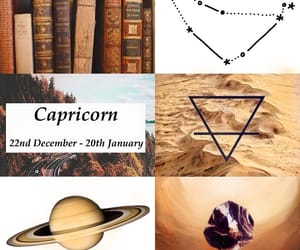 aesthetic, capricorn, and earth sign image