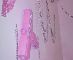 gun and pink image
