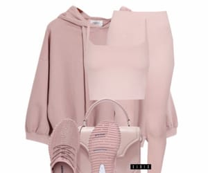 pink, Polyvore, and clothes image