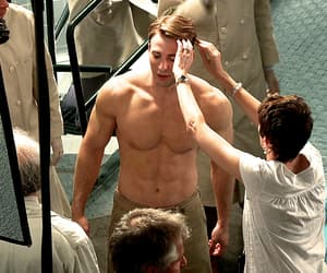 chris evans, handsome, and gif image