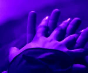 aesthetics, boy, and purple image
