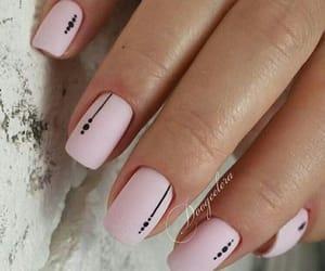 black, pink, and diy image