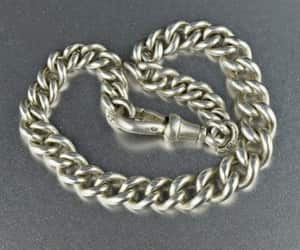 chain, edwardian, and vintage image