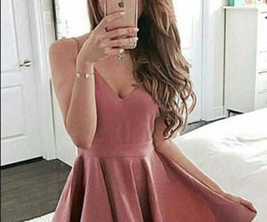 homecoming dresses, red prom dress, and prom dress a-line image