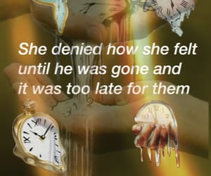 aesthetic, clocks, and lovers image