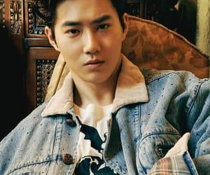 suho, exo, and kim junmyeon image