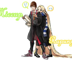 gryffindor, hogwarts, and hiccup image