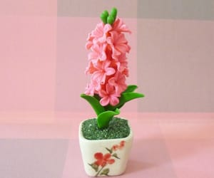 etsy, flower tree, and dollhouse miniatures image