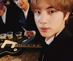 bts, seokjin, and taehyung image