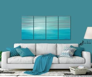etsy, coastal wall art, and master bedroom image