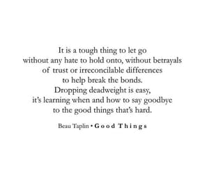 good things, quote, and quotes image