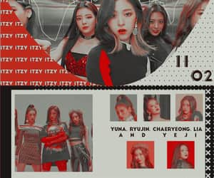 kpop, edits, and itzy image