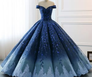 fashion, prom dress, and girl image