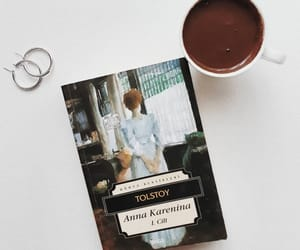 anna karenina, book, and like image